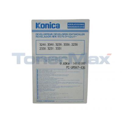 KONICA 3240 3340 DEVELOPER BLACK